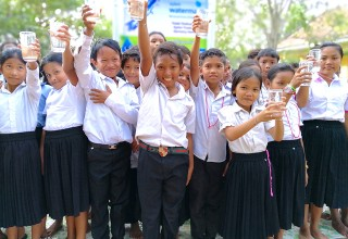 Celebrating clean drinking water from Planet Water Foundation