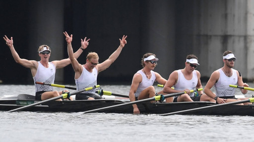 Gold-Medal Rowers Turn to Myovolt Technology During Olympic Preparation