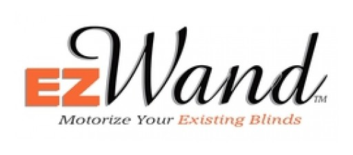 EzWand Offers Motorized, Remote Controlled Vertical and Horizontal Blinds