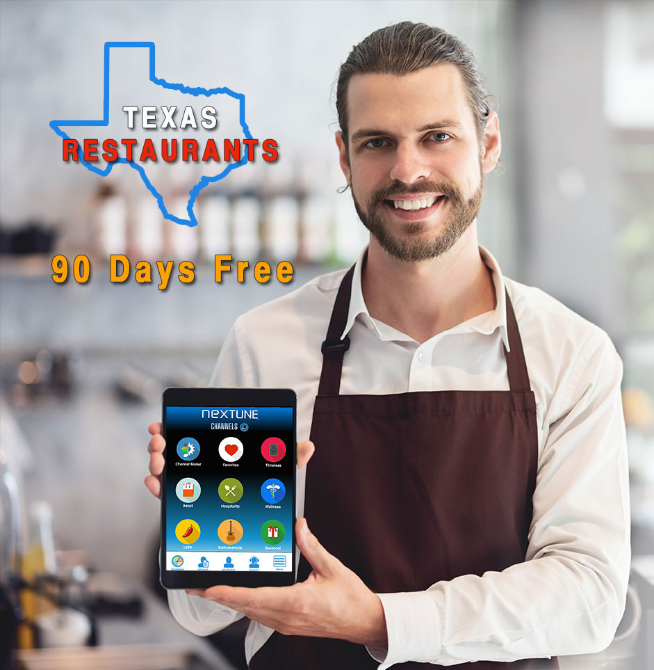 Music Company Supports Texas Businesses With A 90 Day Free Music Service Newswire