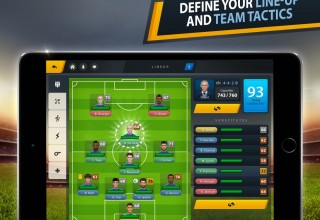 Define your line-up and team tactics
