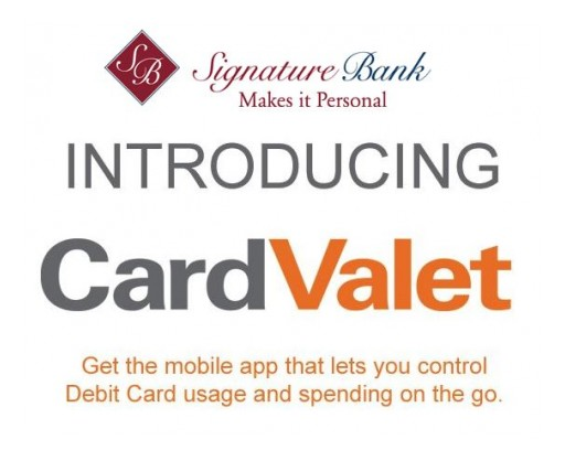 Signature Bank Launches Service Enhancing Client Debit Card Security