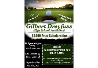 Details of Gilbert Dreyfuss Golf Scholarship
