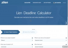 The Lien Deadline Calculator