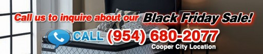 Black Friday Sale: 1/2 Price Mattress Cooper City and Dania Beach - Buy a Top Brand Mattress for Up to 75 Percent Off