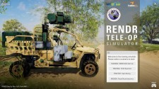 Teleoperation Training Simulator for Unmanned Ground Vehicles