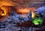 Spectacular beauty inside the cave - Halong Bay tours