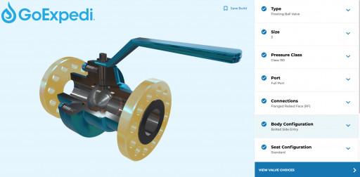 GoExpedi Launches New Valve Configurator Technology