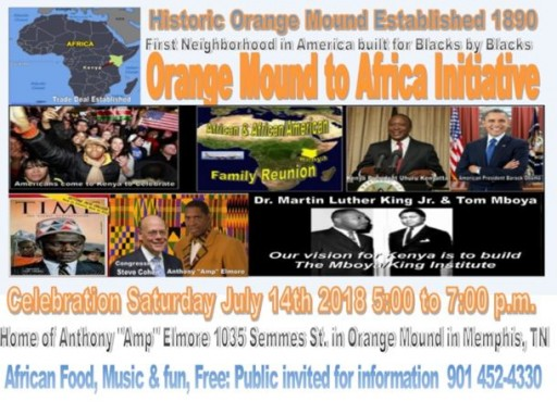 Orange Mound to Africa Initiative Connects Black History, Civil Rights Movement and Dr. King's Dream With Africa