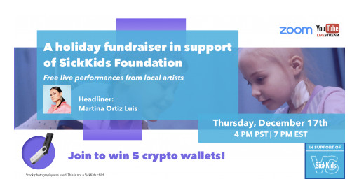 VirgoCX to Hold a Crypto Holiday Fundraiser in Support of SickKids Foundation