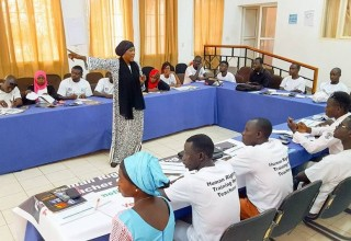 Teachers learn to deliver human rights education