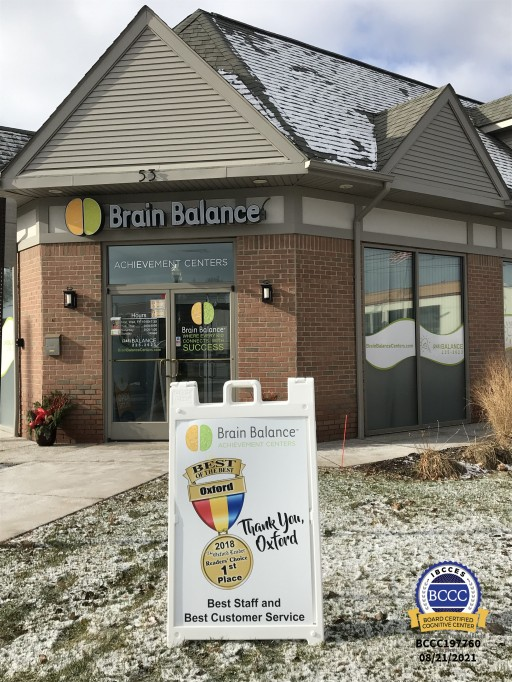 Brain Balance of North Oakland is Now a Board Certified Cognitive Center