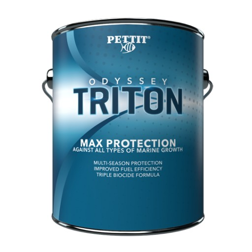 Pettit Marine Paint Develops the Most Effective Anti-fouling Paint to Hit the Market in Many Years - ODYSSEY® TRITON
