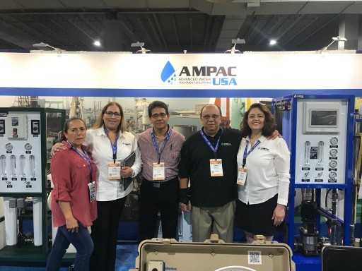 AMPAC USA Gets Overwhelming Response at the Water Expo 2019