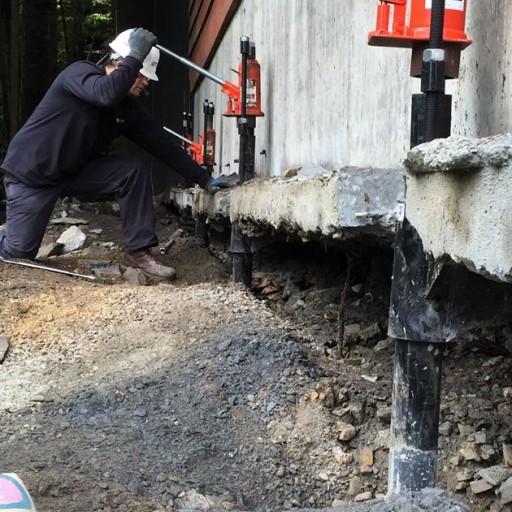 Ram Jack Repairs Sinking Alaskan Home