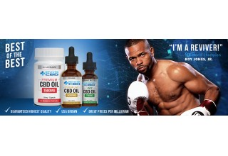 Roy Jones, Jr Fighting at 50 with Reviver CBD Oil