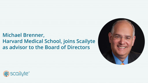 Scailyte Announces Michael Brenner, of Harvard Medical School, as an Advisor to Its Board of Directors