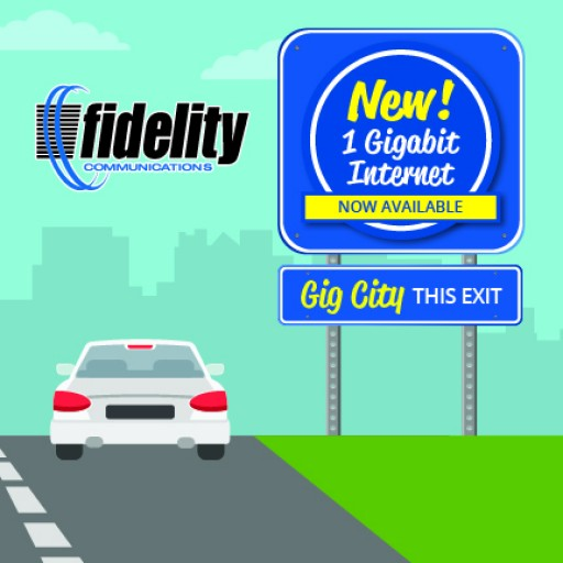 Fidelity Communications Offers 1 Gigabit Internet Service to Five New Communities