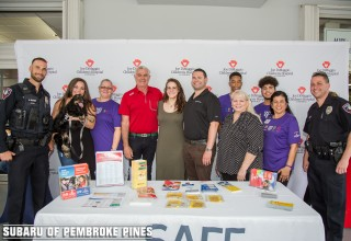 The Craig Zinn Automotive Group hosted its 2nd Annual Subaru of Pembroke Pines Operation Kidsafe