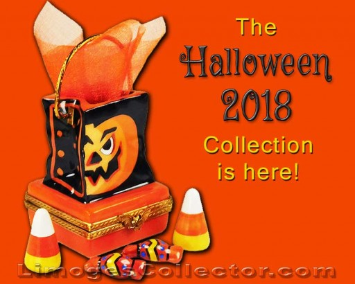 The New and Exclusive 2018 Beauchamp Halloween Limoges Box Collection Arrives at LimogesCollector.com