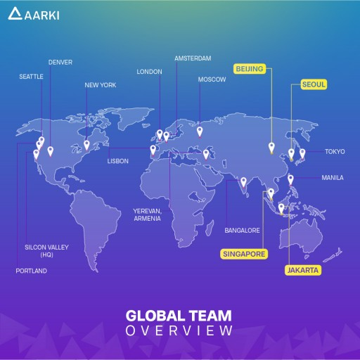 Aarki Expands Global Reach With New Offices in Asia