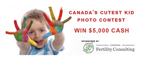 Canada's Cutest Kid Photo Contest Launched; Win $5,000