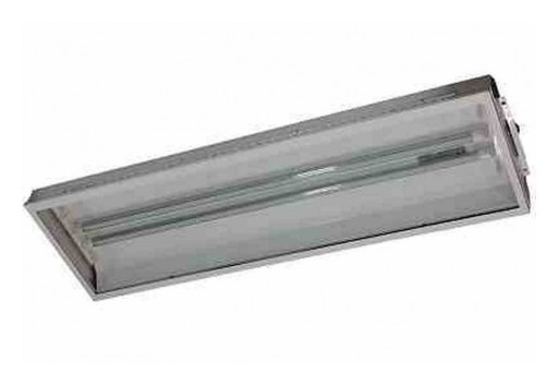 Larson Electronics Releases Flameproof LED Fixture, 56 Watts, 4' 2-Lamp, ATEX/IECEx Rated