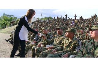 Training Colombian military on the Universal Declaration of Human Rights