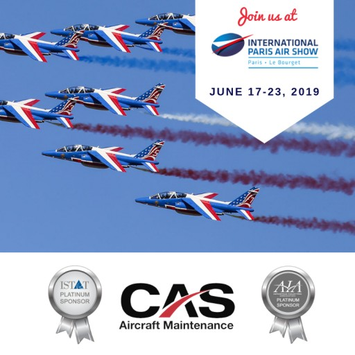 CAS to Attend the International Paris Air Show
