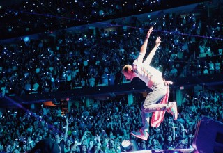 Coldplay on Tour Energizing Fans With A Head Full of Dreams