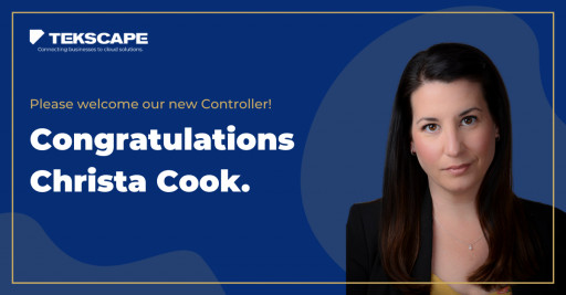 Big Win for Women in Tech: Tekscape Promotes Christa Cook to Company's First Female Leadership Role