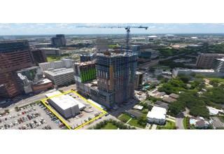 Site of Medistar's New Medical Tower at Texas Medical Center
