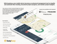 busybusy Mobile Time Tracking for Construction
