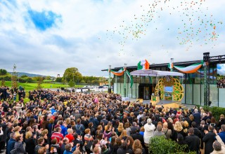 More than a thousand Scientologists and guests gather on Saturday, October 14, to commemorate the historic opening of Ireland's first Church of Scientology and Community Centre, in the heart of South Dublin.