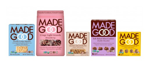 MadeGood Launches Two New Products: Soft Baked Mini Cookies and Crispy Light Granola