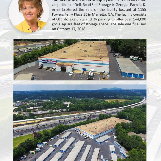 The Storage Acquisition Group Announces the Sale of Delk Road Self Storage in Marietta GA