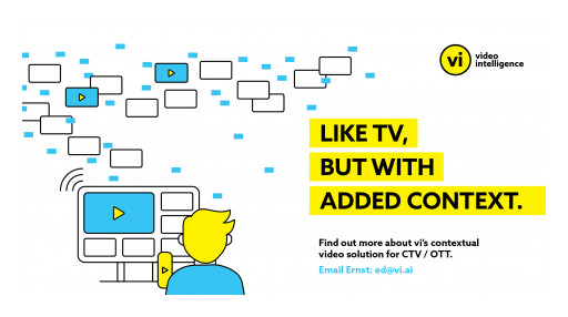Video Intelligence Announces New Contextual Video Solution for CTV