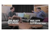 Whole Foods CEO John Mackey with Marc Gafni