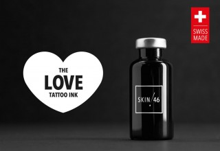 SKIN46 THE LOVE TATTOO INK - BOTTLE