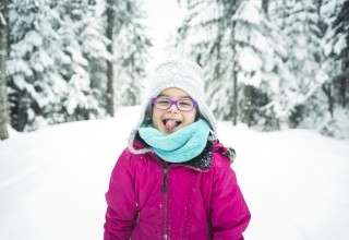 Essilor Vision Foundation holiday photo