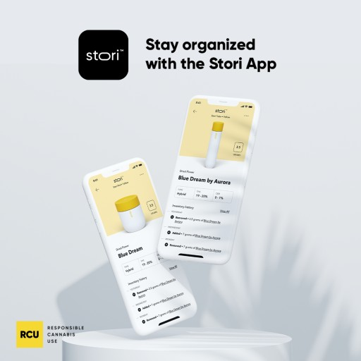 RCU Releases the Stori App to Help Cannabis Consumers Keep Track of Their Product Preferences and Inventory