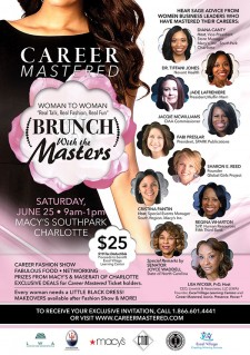 Career Mastered:  Brunch with the Masters