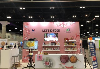 K-Food Booth at KCON LA 2019