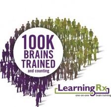 100k Brains trained LearningRx logo