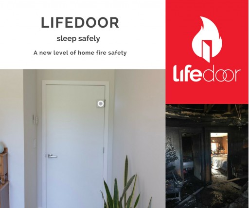 LifeDoor at CES 2019: Life-Saving Device Protects Families From House Fires