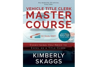 Vehicle Title Clerk Master Course