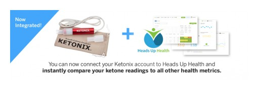Heads Up Health Partners With KETONIX to Simplify Metabolic Health Monitoring