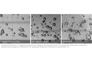 Revanesse Versa Particle Images Comparison