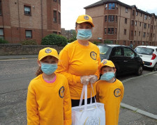 This family team takes part in the work of the Scientology Volunteer Ministers of HAPI