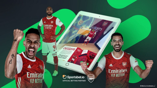 Sportsbet.io and Arsenal FC Launch Augmented Reality Matchday Programme for Fans and Influencers